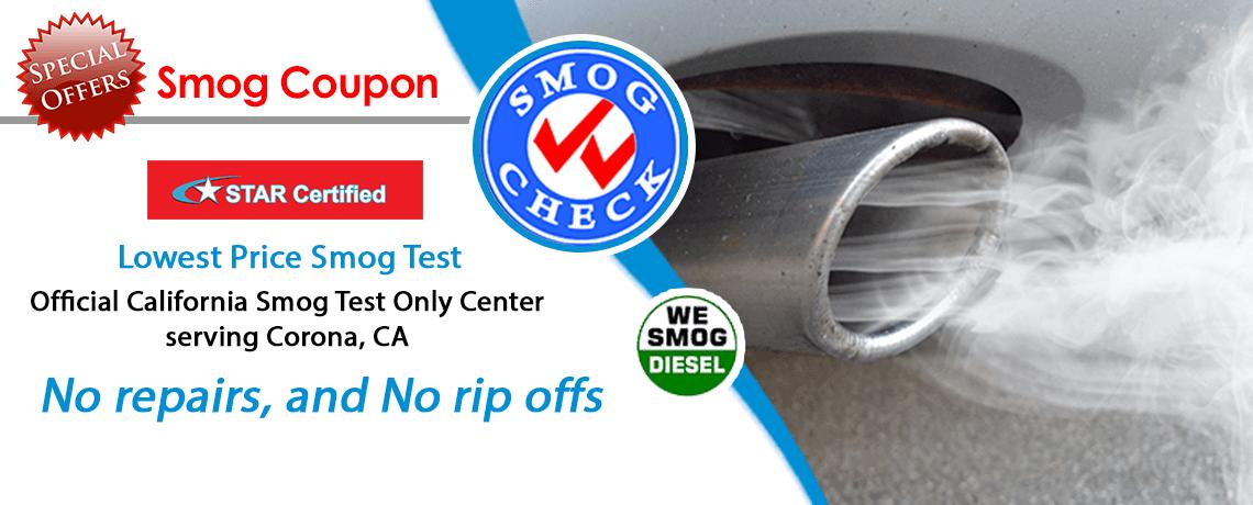 How Much Is A Smog Check >> Discount Smog Check Corona 31 75 Smog Coupon 951 496 3001